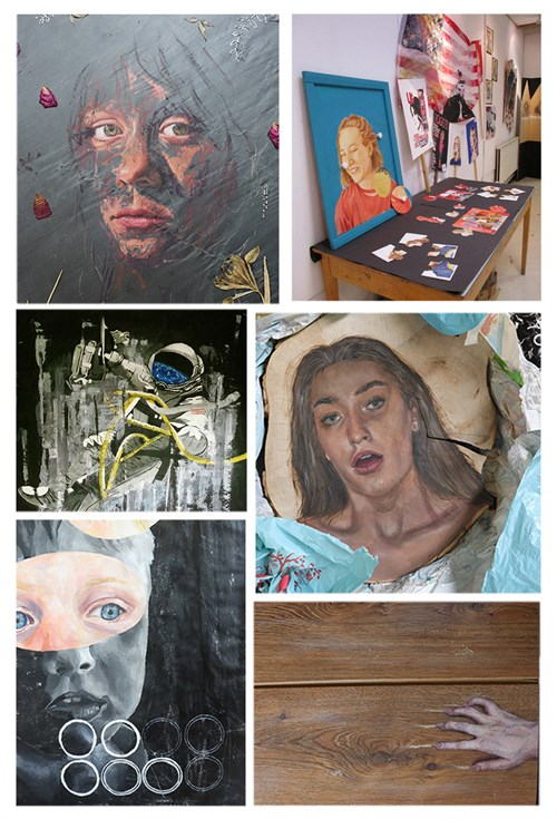 A Level Art Collage