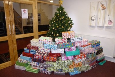 Y7 Christmas Boxes photo gallery