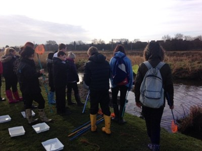 Science Trip to Doxey Marshes - March 2014